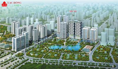 Phối cảnh dự án Lạc Hồng Lotus