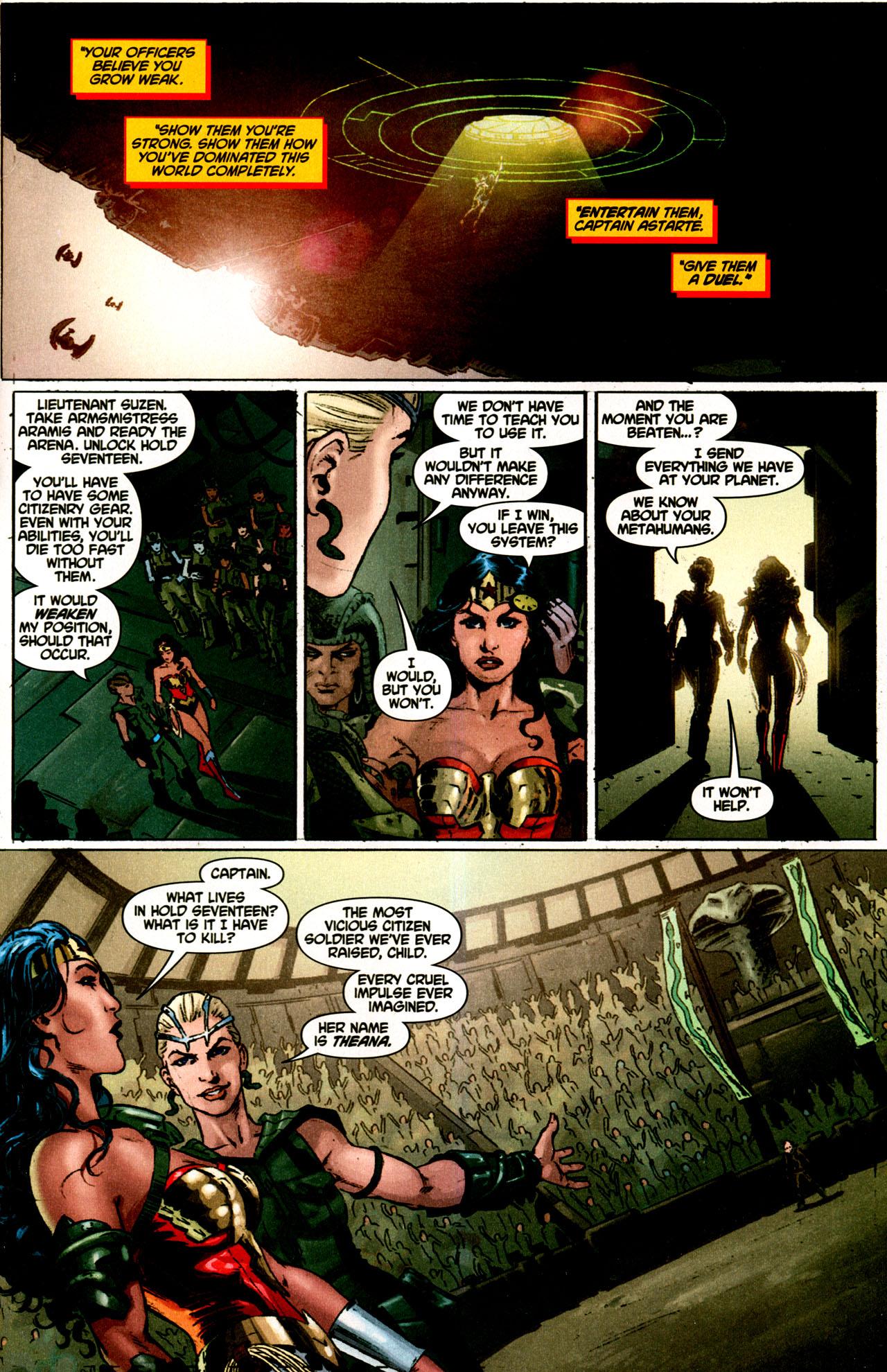 Read online Wonder Woman (2006) comic -  Issue #43 - 22