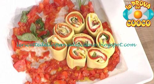 Rotolo freddo di pasta ai peperoni ricetta Messeri da Prova del Cuoco