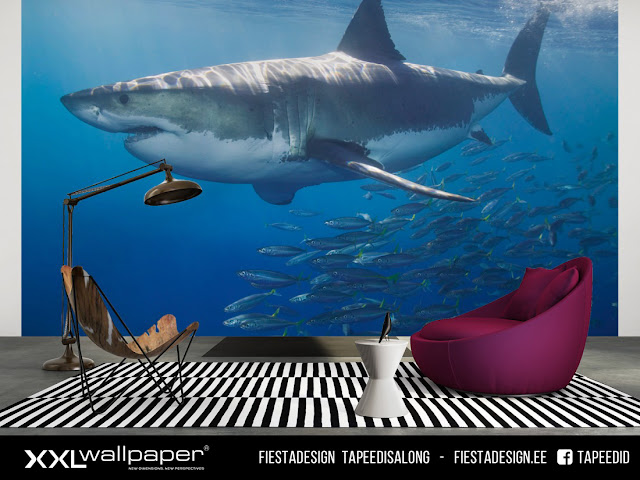 Pilttapeet XXL Wallpaper ³ #685 White Shark