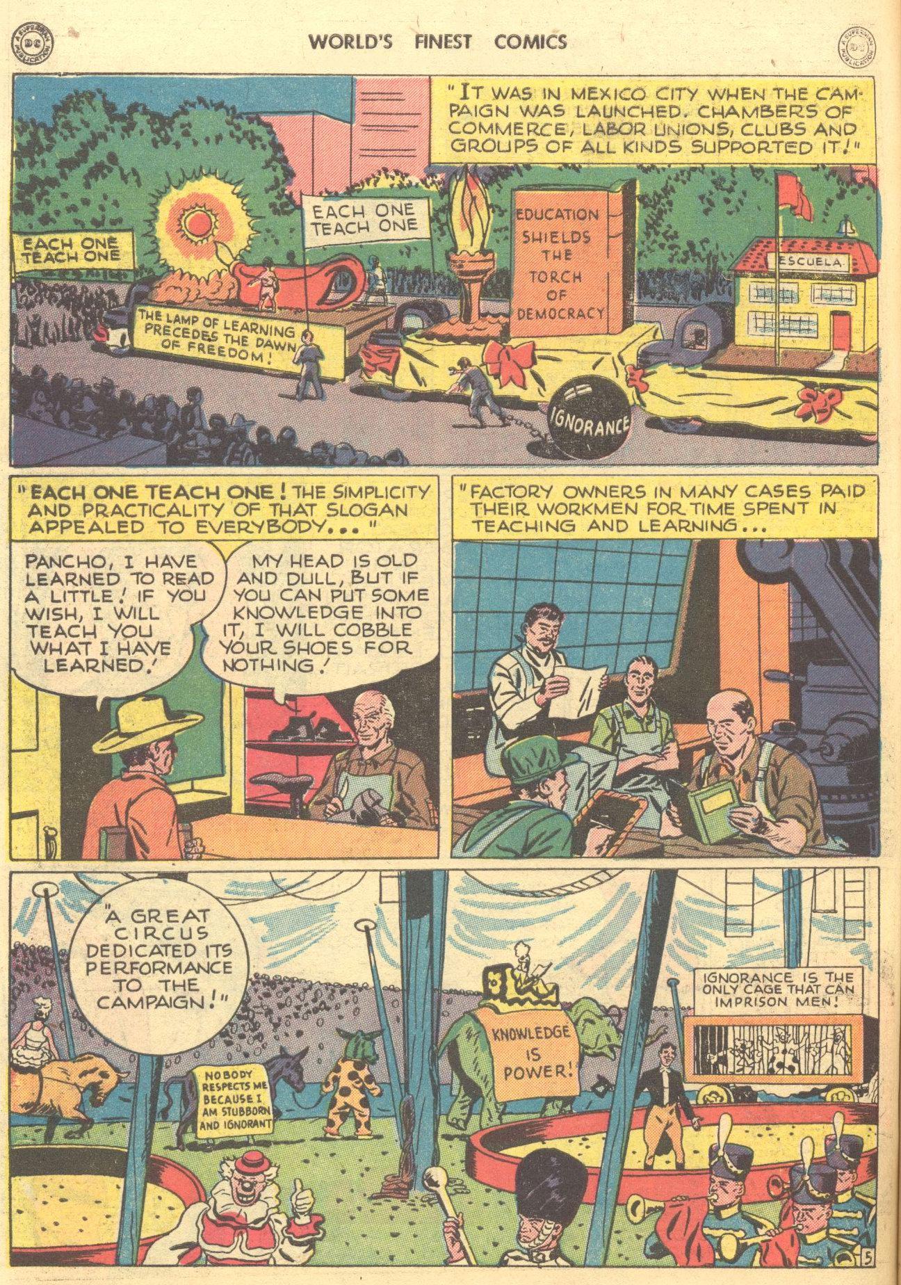 Read online World's Finest Comics comic -  Issue #28 - 55