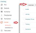 Cara membuat halaman kontak pada blog