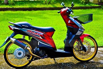 Gambar Modifikasi Motor Honda BeAT FI Terbaru