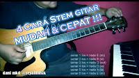 Cara Menyetem Gitar, Cara Tuning Gitar