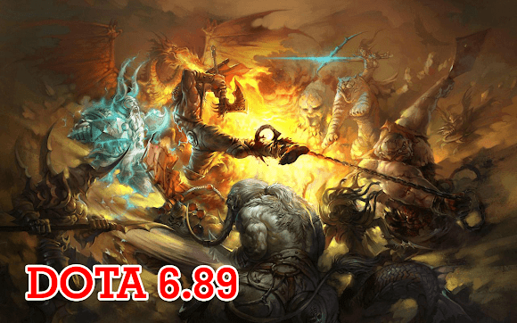 DotA 6.89a3 Allstars