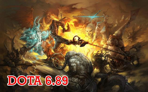 DotA 6.89a7 (Último mapa para jugar RGC)