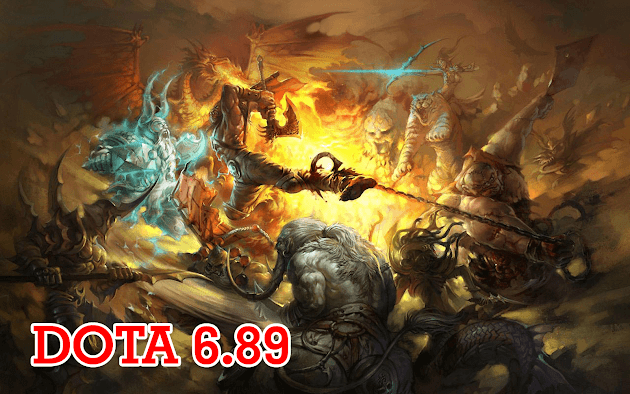 DotA 6.89a7 Allstars