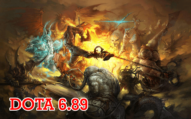 DotA 6.89a9 Allstars