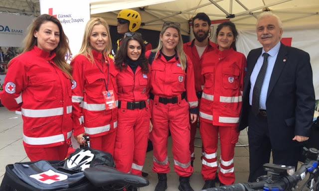 Δυναμική παρουσία των Εθελοντών Διασωστών και του Ε.Ε.Σ. Ναυπλίου στον 35ο Κλασσικό Μαραθώνιο