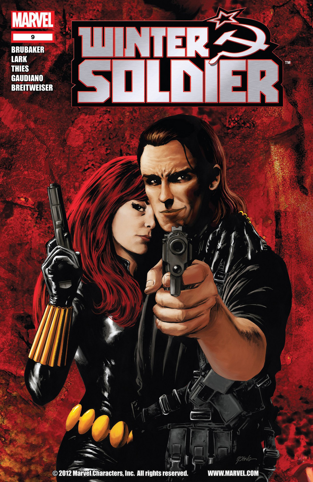 Winter Soldier (2012) issue 9 - Page 1
