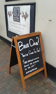 The Bedford Beer Cave in Tunbridge Wells