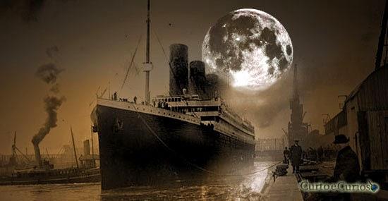 Lua causou o desastre do Titanic ?