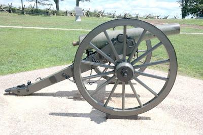 Civil War Cannon - Oak Ridge - Gettysburg Battlefield