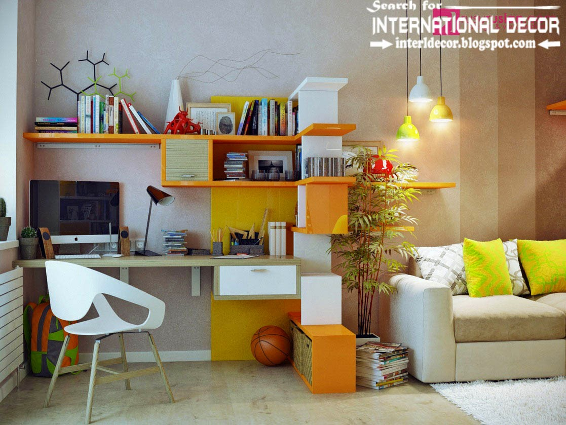 Useful tips to create creative study space for kids room for International decor 2017