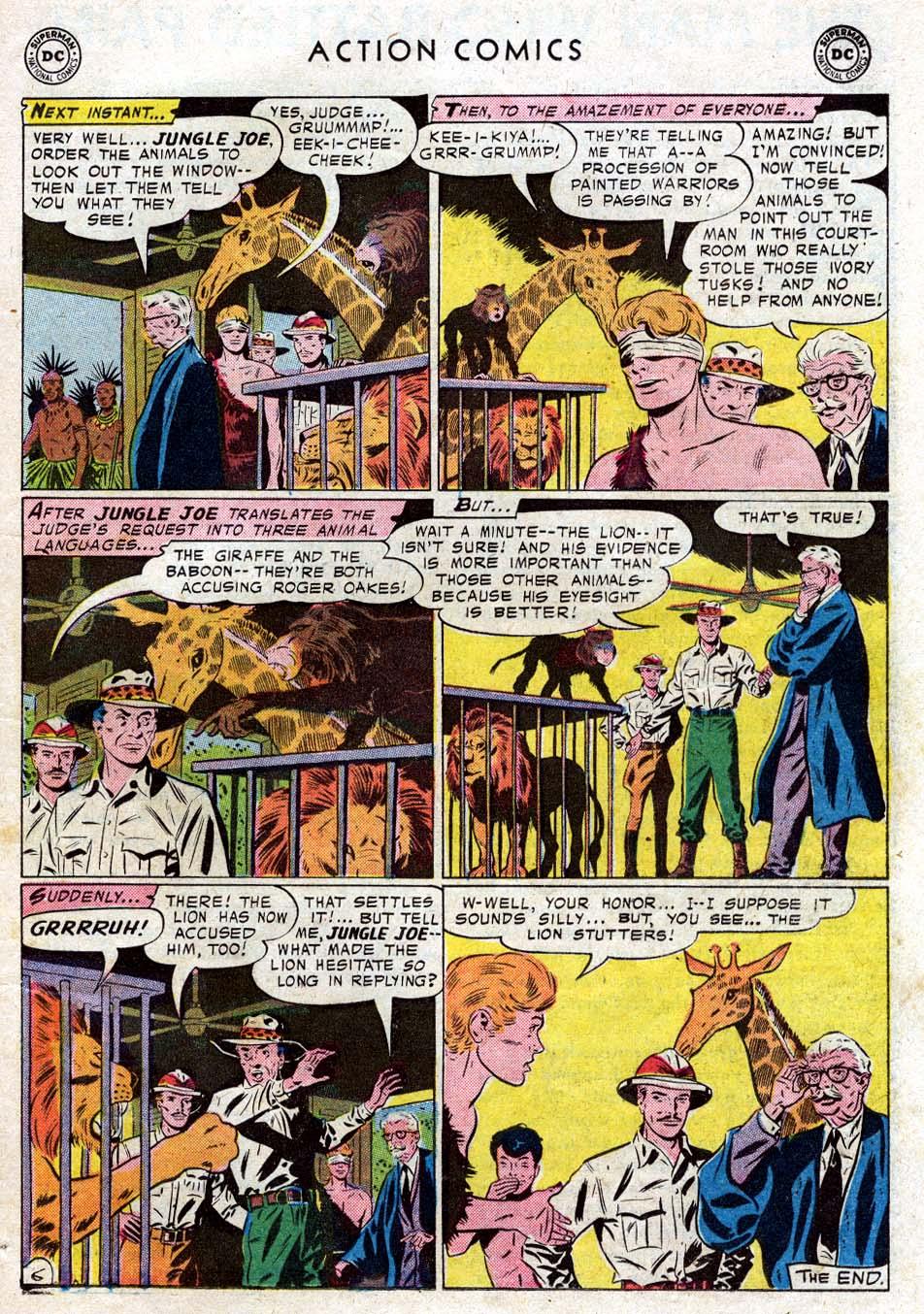 Action Comics (1938) 236 Page 22