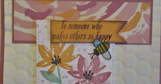 Bee Happy - Try Stampin' on Tuesday #310