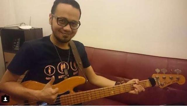 Kabar Duka: Dika, Bassist Kerispatih, Meninggal Dunia