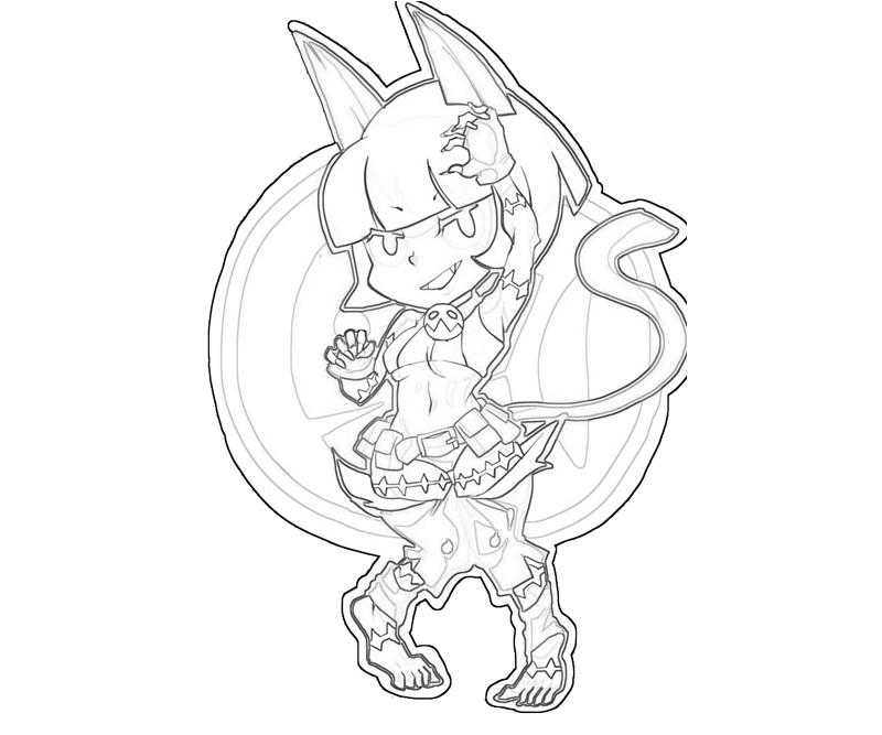 Skull girls characters coloring pages ~ Skullgirls Ms Fortune Attack | Mario