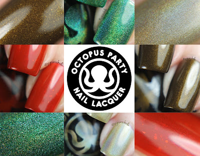 Octopus Party Nail Lacquer Fall Part Two