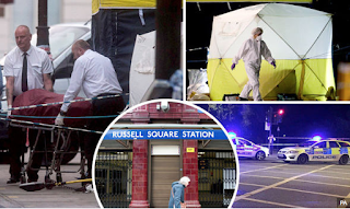 Russell Square Stabbings - Teen Arrested As Woman Stabbed To Death And Five Injured