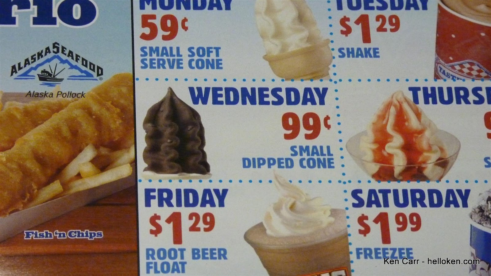 Ken Carr Blog A Dipped Cone That Looks Like Poo