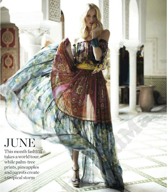 WANDERLUST - MARIE CLAIRE UK JUNE 2012