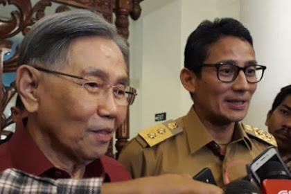 Sandiaga Tak Baper jika Kwik Kian Gie Nyatakan Dukungan ke Jokowi-Ma'ruf