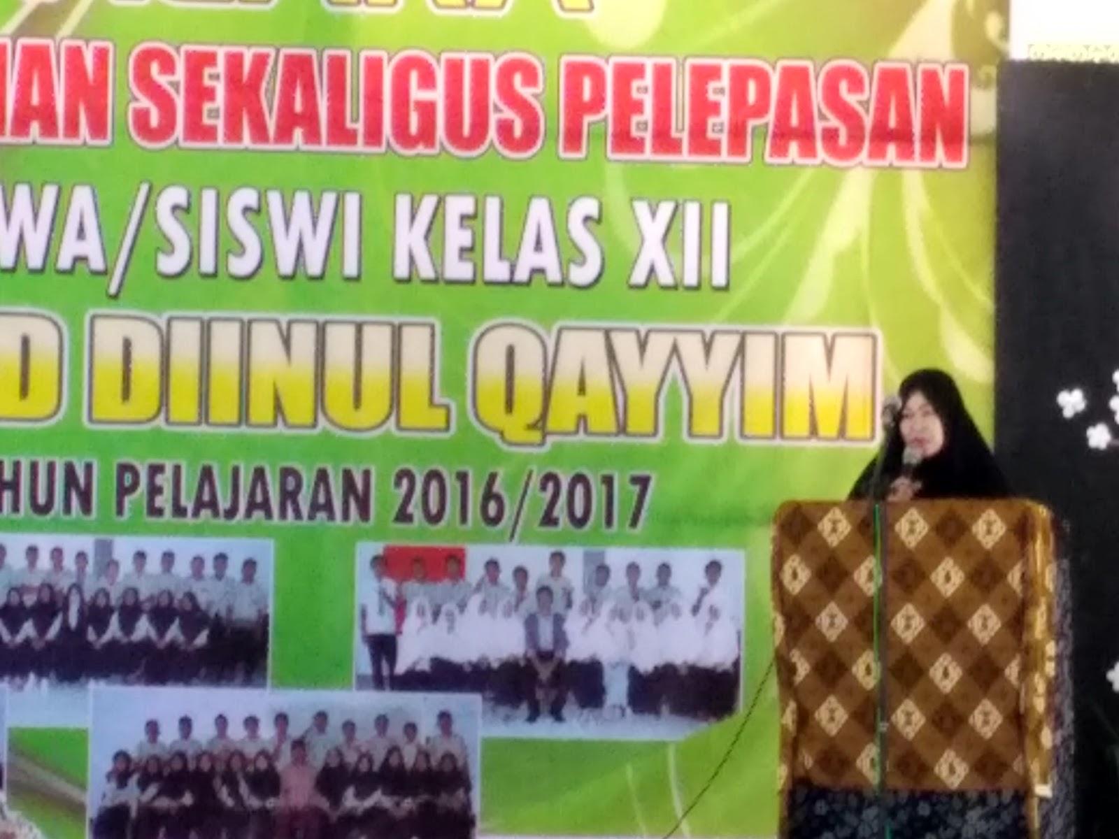Mataram Kita Acara Perpisahan Dan Pelepasan Siswa Siswi Ma Ad Diinul Qayyim Kapek 2017