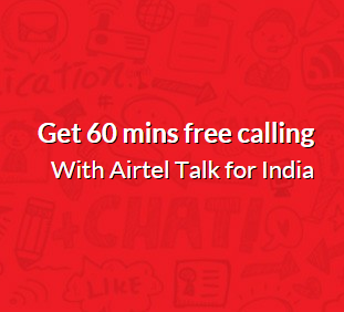 (*HOT*) FREE 60 MINUTES CALLING FOR ALL AIRTEL USERS-MAY'15