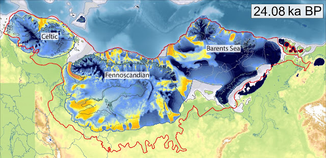New reconstruction of an ancient ice sheet