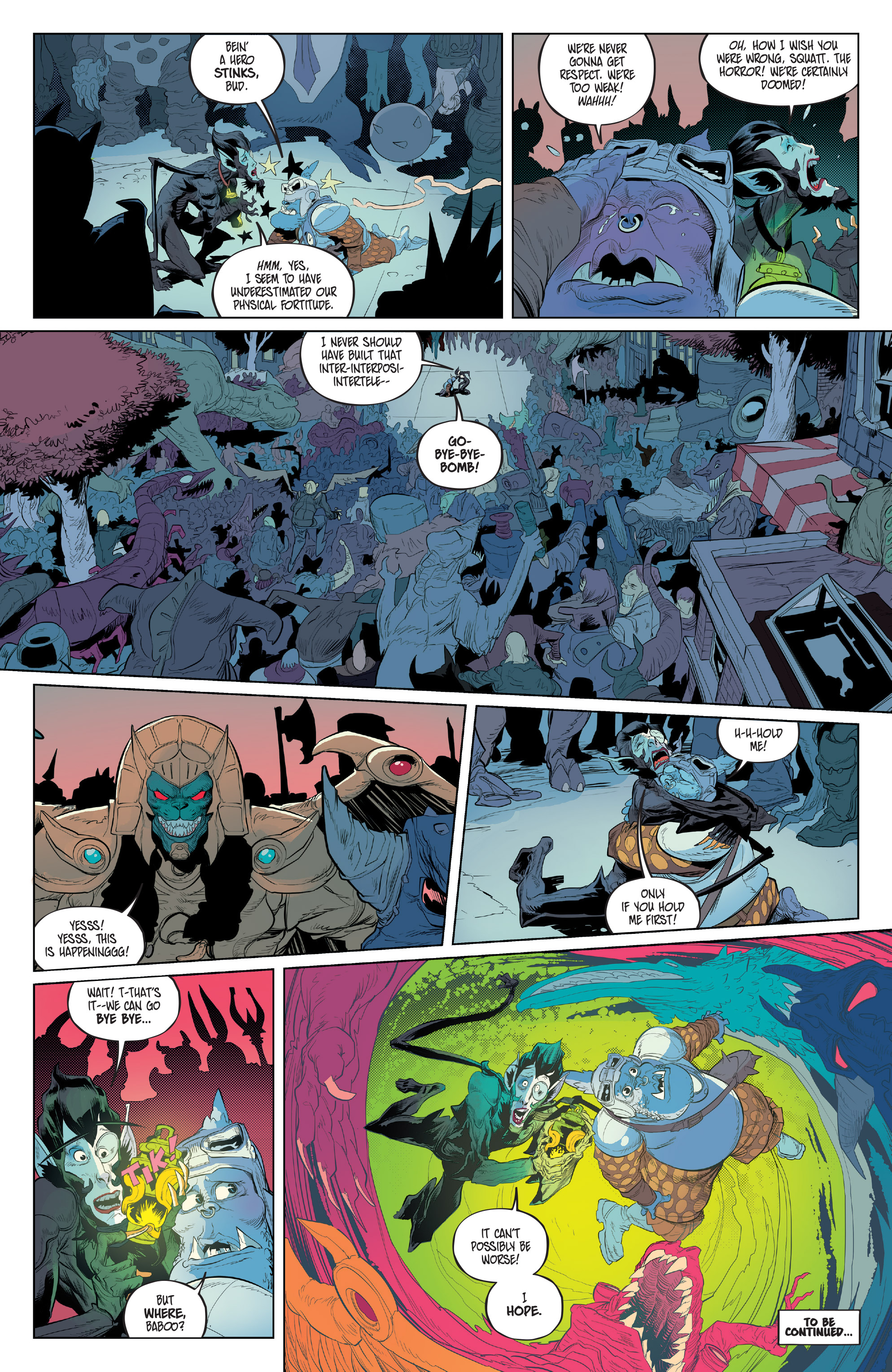 Read online Mighty Morphin Power Rangers comic -  Issue #16 - 22
