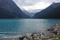 l'eau froide d'un lac