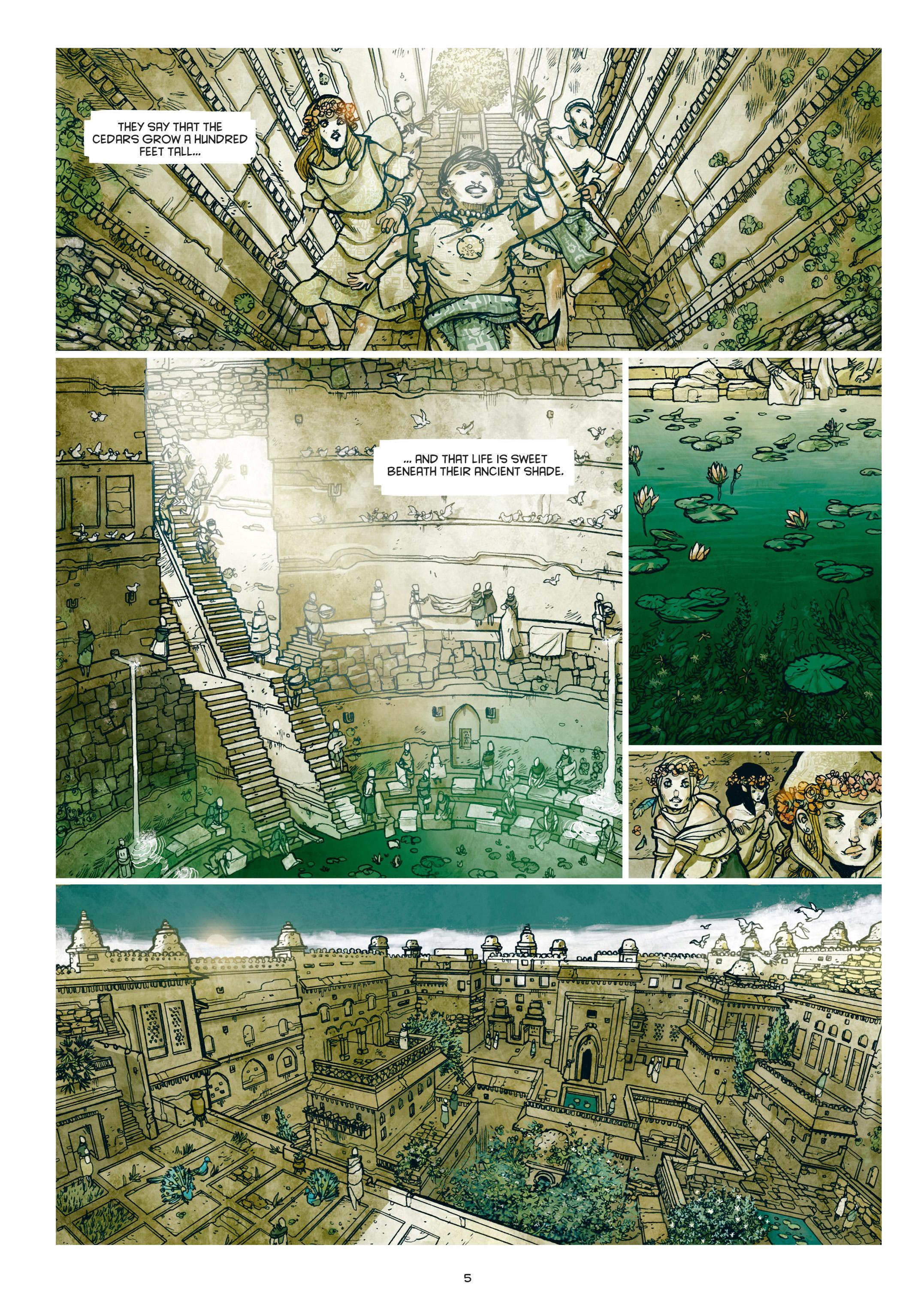 Read online Adrastée comic -  Issue #1 - 6
