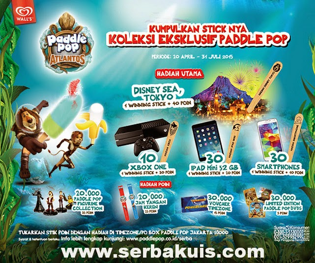 Promo Paddle Pop Atlantos Berhadiah 10 XBOX One