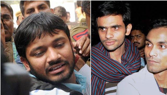 JNU students Kanhaiya Kumar, Umar Khalid ask Delhi Police for security