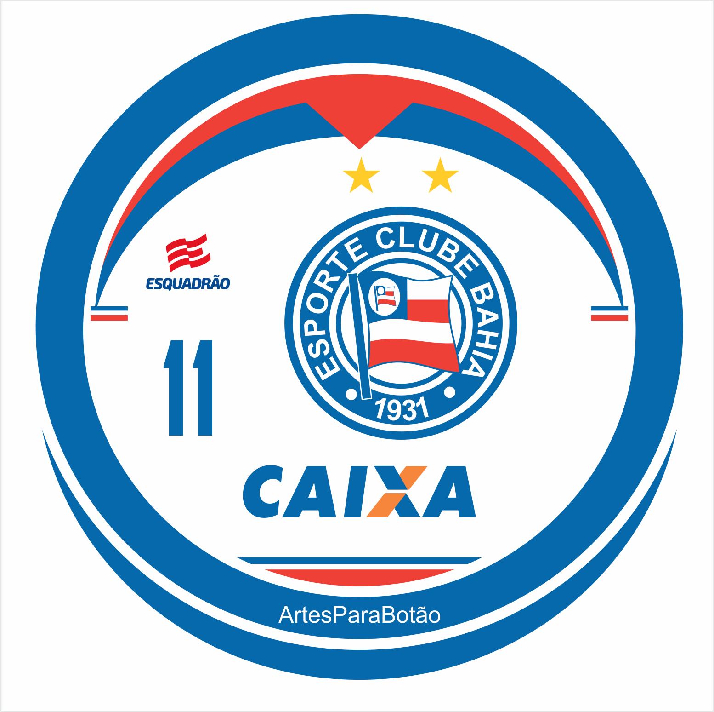 23b5e33368 Botão baseado no uniforme Home da temporada 2018 fornecido pela Esquadrão