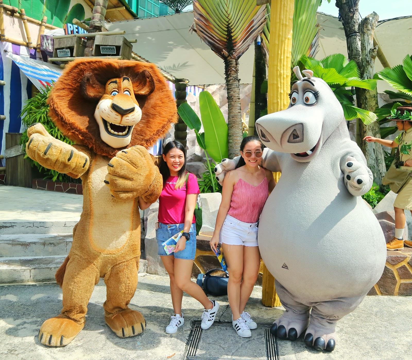 Madagascar - Universal Studios Singapore