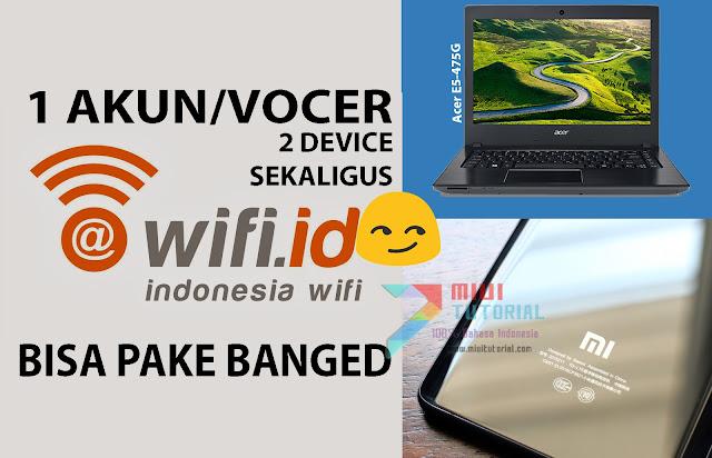 Trik Licik Admin Miuitutorial.com: 1 Vocer Wifi id di Dua Device Sekaligus: Tested Mi5 Pro dan Redmi Note 3 PRO