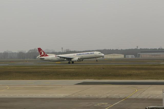 Aeroporto Tegele di Berlino-decollo