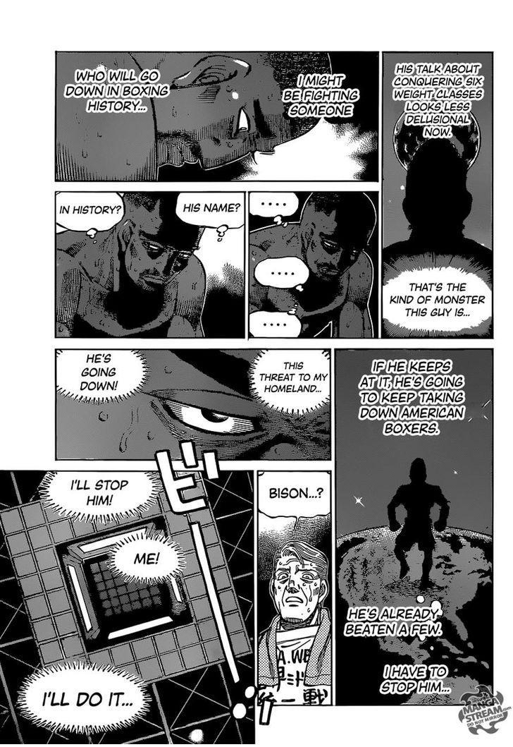 Hajime no Ippo - Chapter 1110