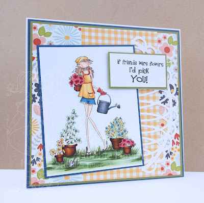 Heather's Hobbie Haven - Pippa Loves to Plant Card Kit