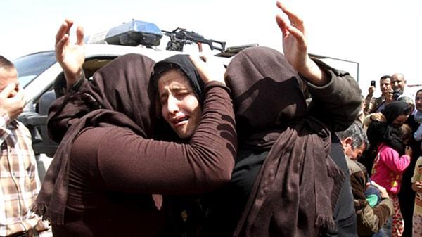 Torturan y queman vivas a 19 chicas en Irak al negarse a tener sexo con terroristas islámicos