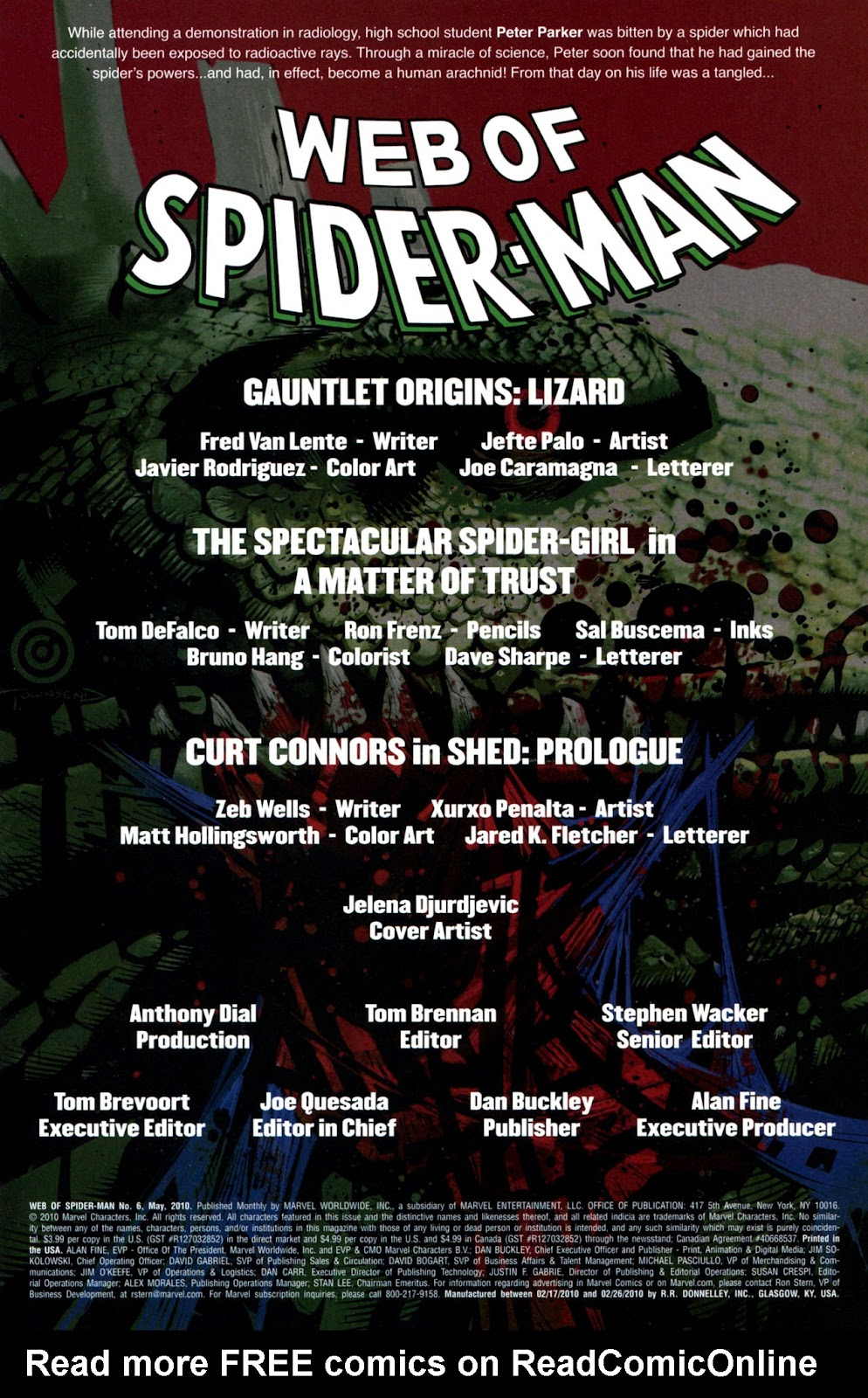 Web of Spider-Man (2009) Issue #6 #6 - English 2
