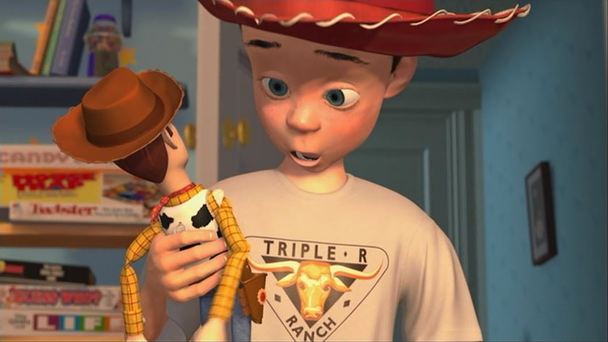 Young Andy Toy Story