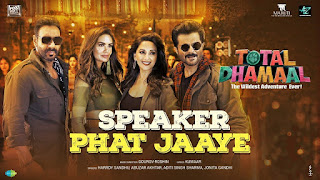 Speaker Phat Jaaye Lyrics  Total Dhamaal