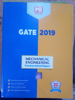ABOUTS: GATE 2019 : MECHANICAL ENGINEERING
