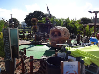 Pirate Adventure Golf course in Ryde