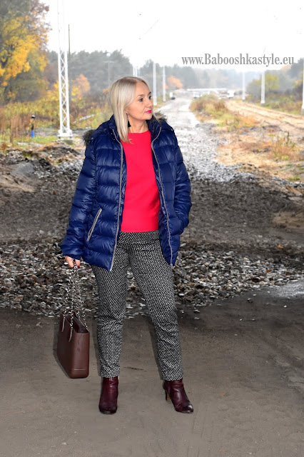 Babooshkastyle, Bonprix, H&M, Gino Rossi, doubleubag.pl, Orsayover50plus, blogfahsion, blogfahsion50plus, stylistka, stylist, lekka kurtka,