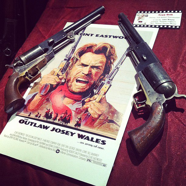 Josey Wales Pistol – Quotes of the Day