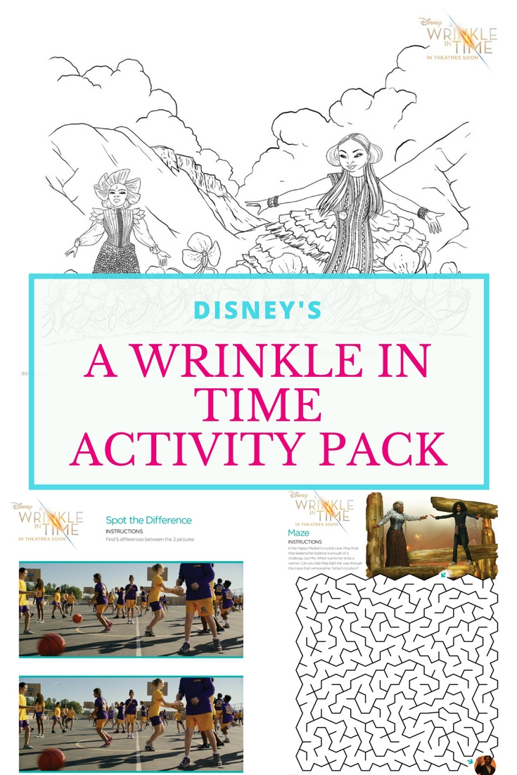Wrinkle In Time Activity Pack